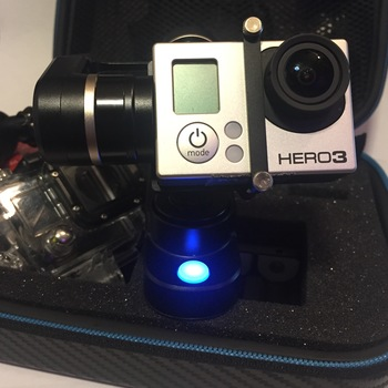 Rent GoPro Hero 3 with Feiyu WG 3-axis Gimbal