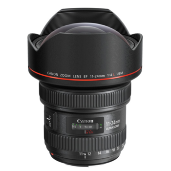 Rent Canon 11-24 f/4L USM Wide Angle Lens