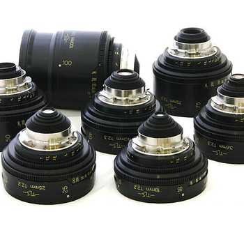 Rent TLS Cooke Speed Panchro 7 lens set