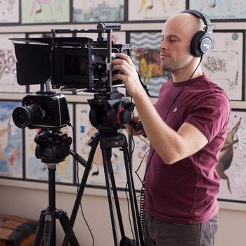 Rent Blackmagic 4K Production Cinema Camera body w/ Wooden Camera rig