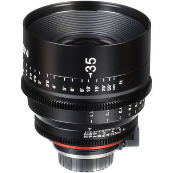 Rent Xeen 35mm T1.5 Cine Prime EF Mount