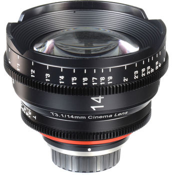 Rent Xeen 14mm T3.1 Cine Prime EF Mount
