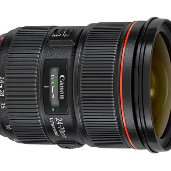 Rent Canon EF 24-70mm f/2.8 L