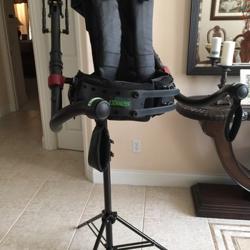 Rent L'aigle exoskeleton for Cinema Cameras and Gimbal setup RED URSA Arri
