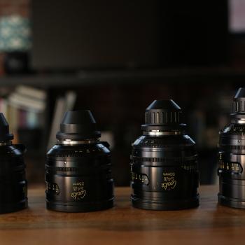 Rent Set of 4 Cooke S4/i T2 Lenses: 18mm, 25mm, 50mm, 100mm