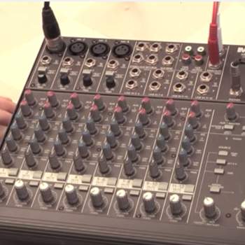 Rent Mackie 1202 Audio Mixer