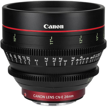 Rent Canon CNE 24mm T1.5 Cine Lens