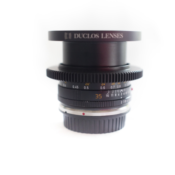 Rent LEICA R SET OF 5 LENSES WITH EF-MOUNT (24mm, 28mm, 35mm, 50mm, 90mm) + Black Diffusion Fx Filter set + Polarizer