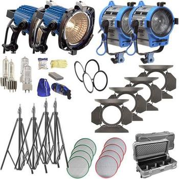 Rent Arri 4 light tungsten kit