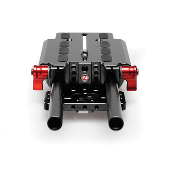 """Rent Zacuto VCT Baseplate w/ 6.5"""" 15mm Rods"""