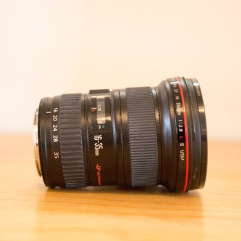 Rent Canon EF 16-35mm f/2.8L II USM Ultra Wide Angle Zoom Lens