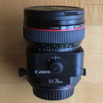 Rent Canon EF  TSE - 24mm