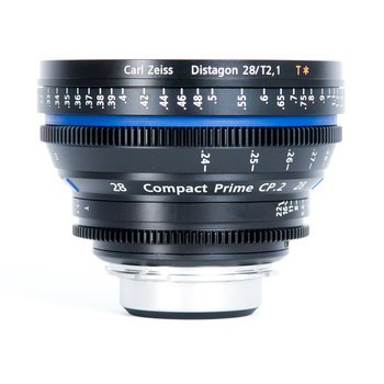 Rent Zeiss CP.2 Compact Prime 28mm T2.1 - PL or EF