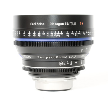 Rent Zeiss CP.2 Compact Prime 35mm T2.1 - PL or EF