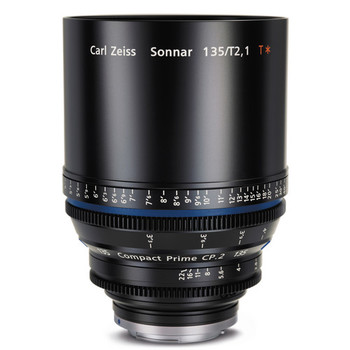 Rent Zeiss CP.2 Compact Prime 135mm T2.1 - PL or EF