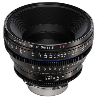 Rent Zeiss CP.2 Compact Prime Super Speed 50mm T1.5 - PL or EF