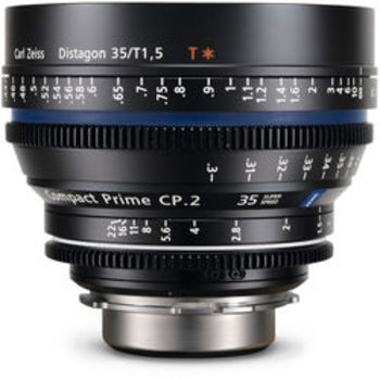 Rent Zeiss CP.2 Compact Prime Super Speed 35mm T1.5 - PL or EF