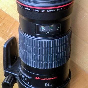Rent Canon EF Macro 180mm
