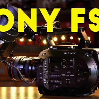 Rent Sony PXW-FS7 Super 35 Cam w/ Canon EF L lenses