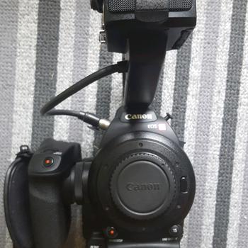 Rent Canon C100 mk i + 24/105L lens + Atomos Ninja Blade 2 Package