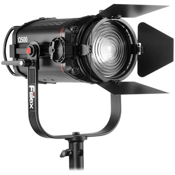 "Rent Fiilex Q500-AC 5"" Fresnel LED Light (Variable Color Temperature: 2,800-6,500K) with Softbox"