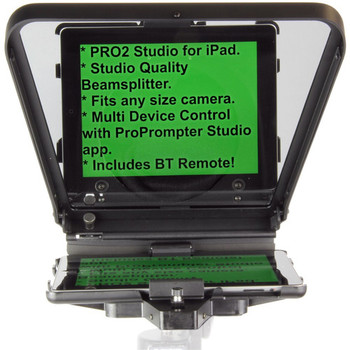 Rent ProPrompter HDi Pro2 Teleprompter with Universal Mount for iPad, iPad Air, iPad mini, Smartphones and Most Android Tablets