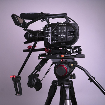 Rent Sony FS7 full filmmaking kit with cameras, lenses, audio, lights