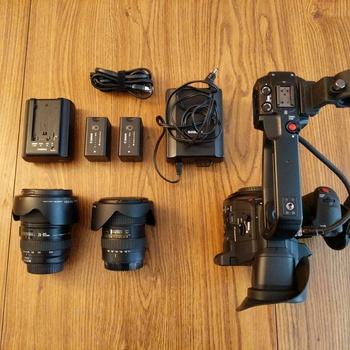Rent C100 Mark II w/ EF Lens kit