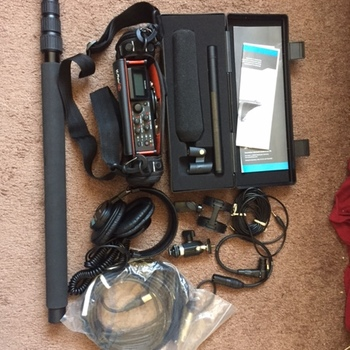 Rent Sennheiser MKH 416 Shotgun Mic with Tascam 70d mixer and accessories