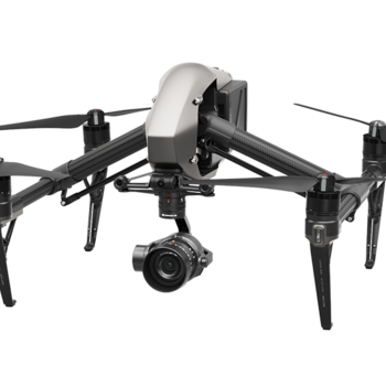 Rent DJI Inspire 2 4K drone with pilot