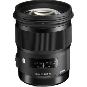 Rent Sigma 50mm f/1.4 Art Series for Canon
