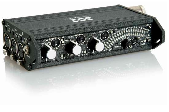 Sound devices 302 three channel portable field mixer