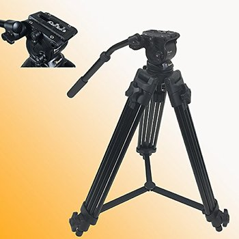 Rent Fancierstudio FC270A Camcorder Tripod Fluid Drag Head Kit Fancierstudio FC270A Camcorder Tripod Fluid Drag Head Kit