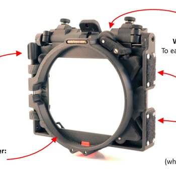 Rent Clip One Mattebox. Ultra Light. Gimbal, Steadicam and Handheld Use.