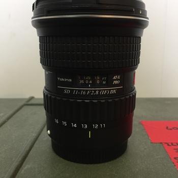 Rent Tokina 11-16mm Lens