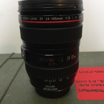 Rent Canon 24-105mm Lens