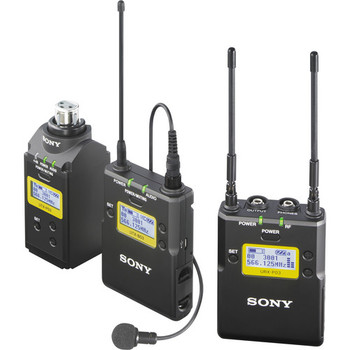 Rent Sony UWP-D16 Integrated Digital Plug-on & Lavalier Combo Wireless Microphone System (UHF Channels 14/25: 470 to 542 MHz)