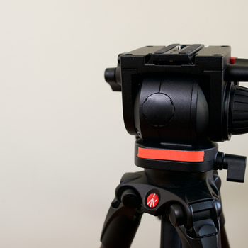 Rent Manfrotto 519 Pro Fluid Head & 535CF Tripod