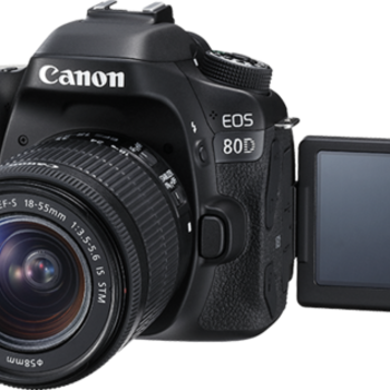 Rent Canon 80D DSLR Camera w/ Choice of Two Lenses