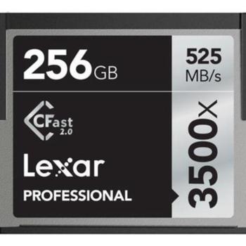 Rent Lexar 256GB CFast 2.0 Memory Card (Professional 3500x)