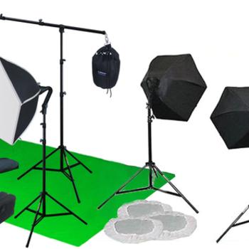 Rent Linco portable green screen lighting kit