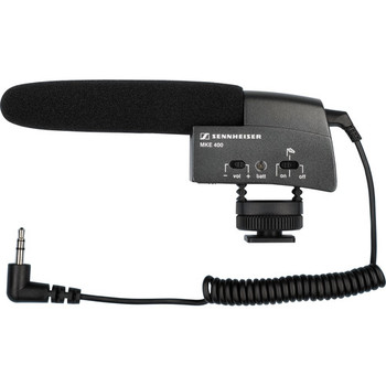 Rent Sennheiser MKE 400 Compact Video Camera Shotgun Microphone