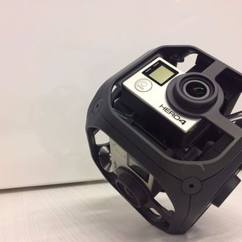 Rent Gopro Omni Full Kit with Extra Battery, Boom Arm-Stand and H4N