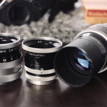 Rent Switar (Bolex) Lens Kit