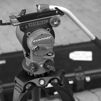 Rent O'Connor 515 fluid tripod head and Manfrotto 535 Carbon Fiber Tripod