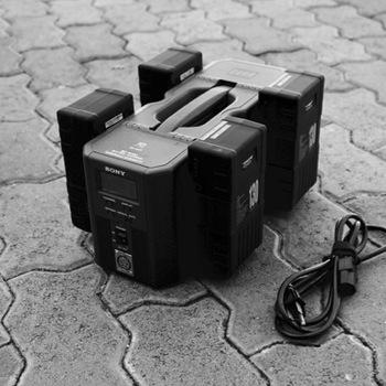 Rent Big V-mount battery package