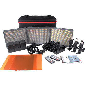 Rent 3 LED light kit w/stands