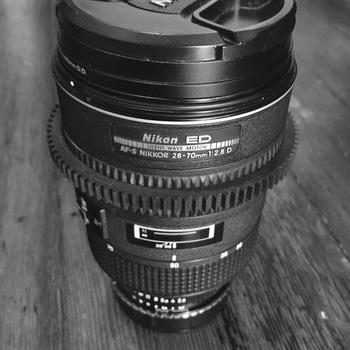 Rent Cine mod - Nikon 28-70 f/2.8 ED with Canon EOS mount
