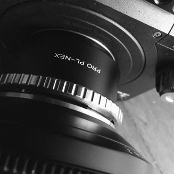Rent Arri PL Cine Lens to Sony E mount NEX Adapter