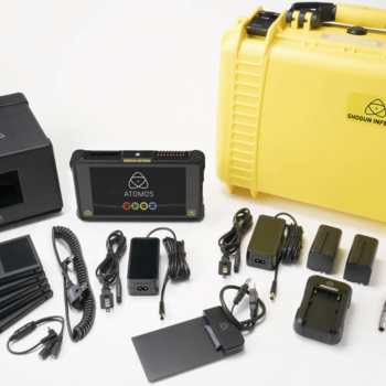 Rent Ursa Mini 4.6k Kit 2TBs Media  (24,50,85mm Rokinon Set ,Wireless Focus, Shoulder Rig, Shogun Inferno HDR Monitor/Recorder)